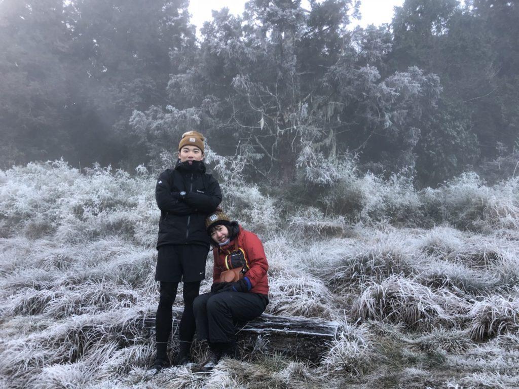 【加羅湖露營】加羅湖兩天一夜│結霜登山露營體驗