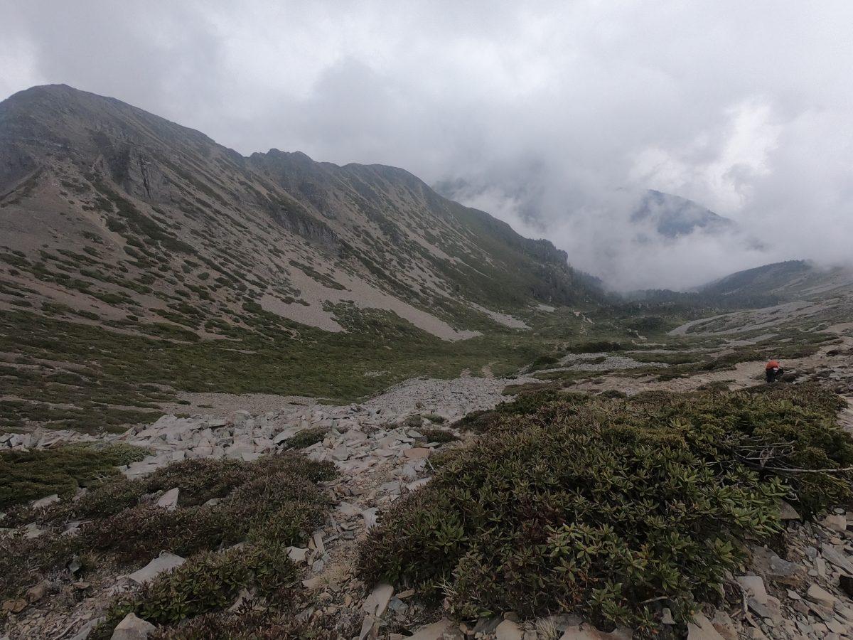 雪山圈谷,