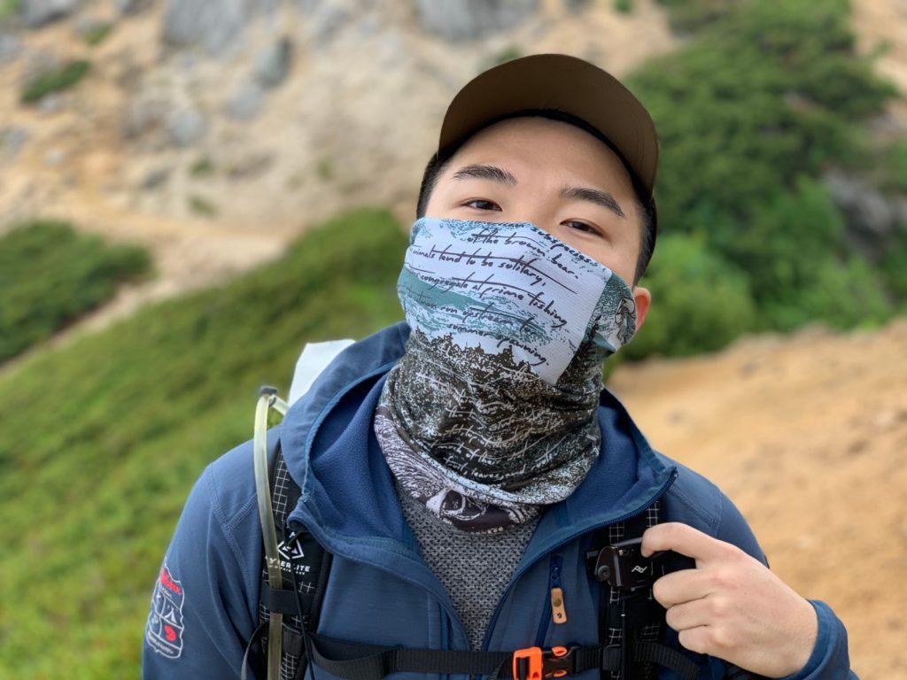 Buff頭巾Coolnet抗uv涼感