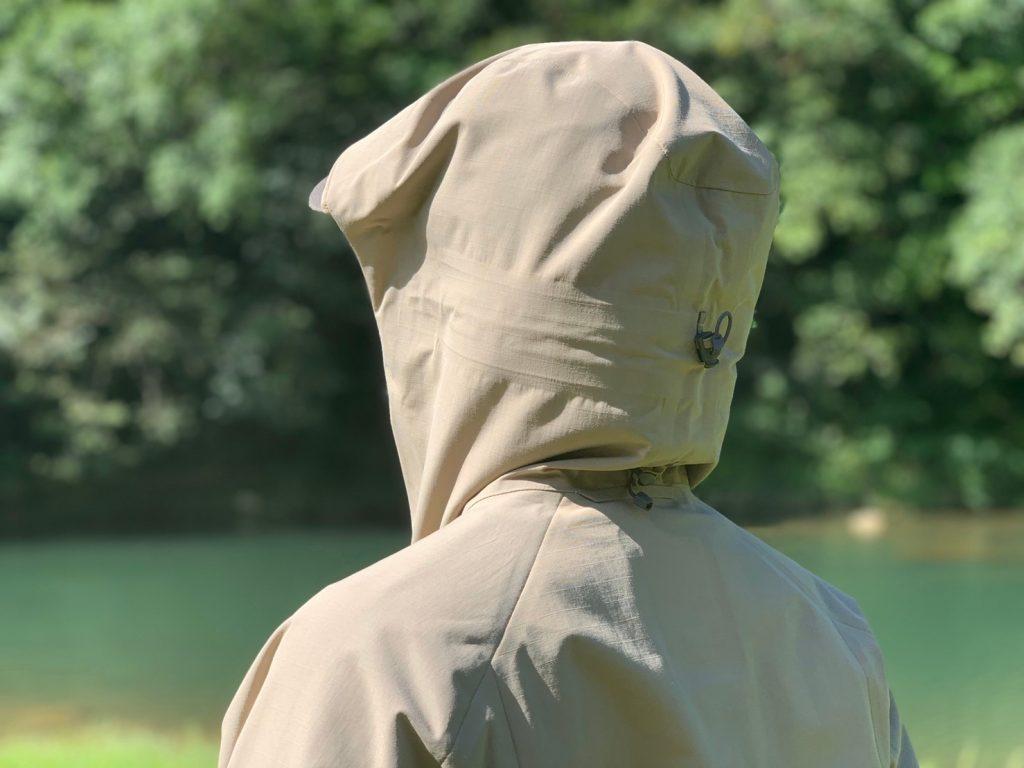 三段式兜帽背面/山系卡波