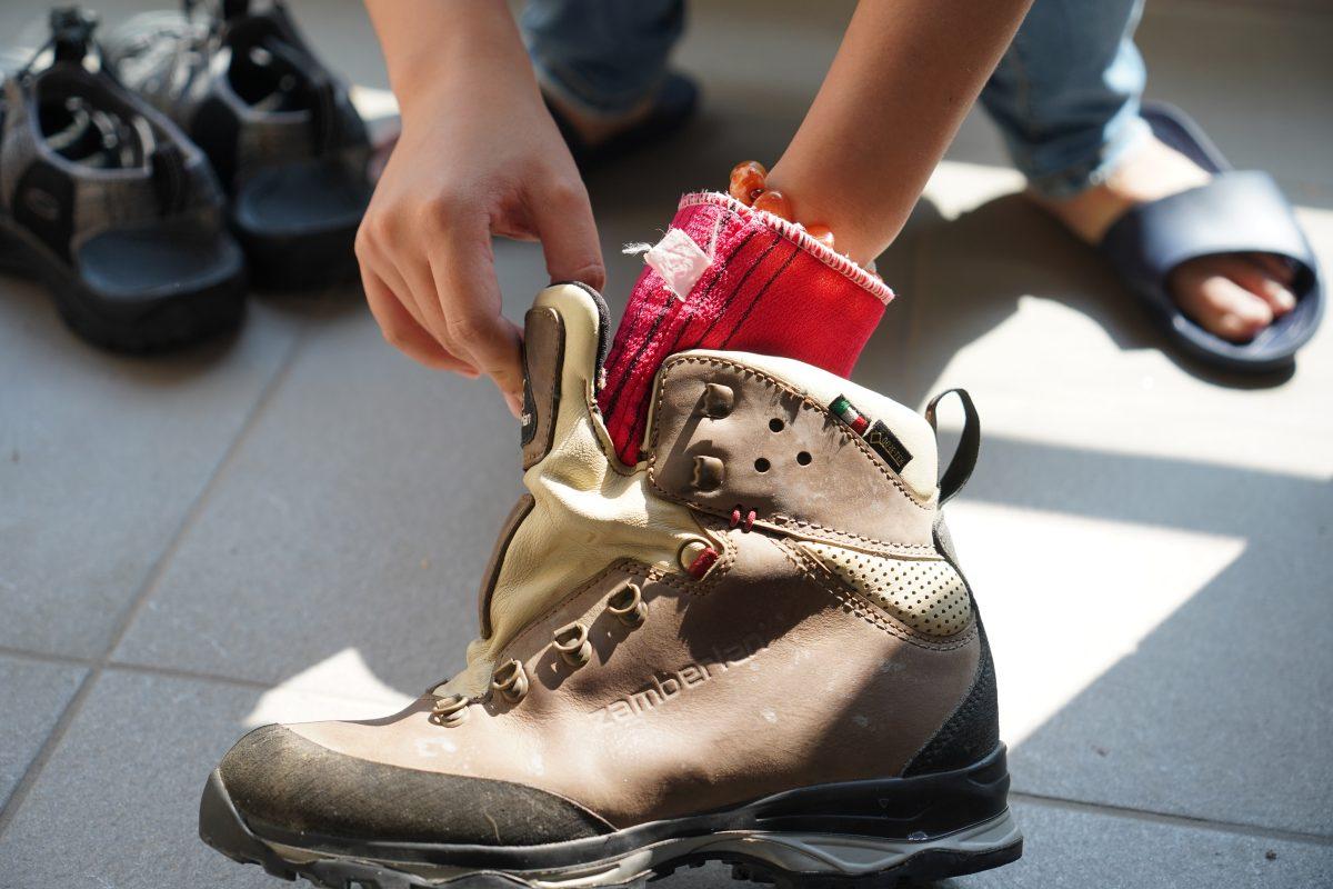 登山鞋清洗與保養