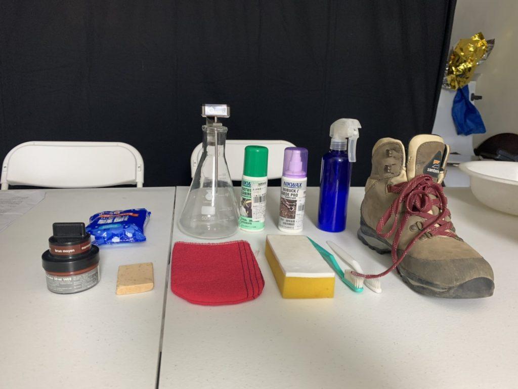 清洗登山鞋工具