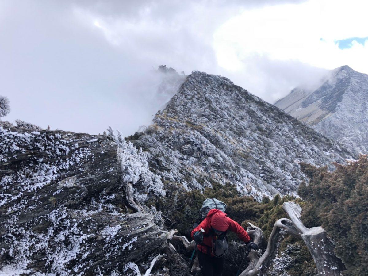 登山 大山