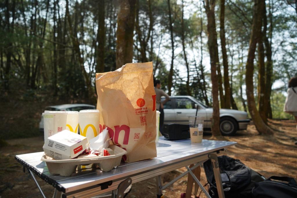 中午配麥當勞