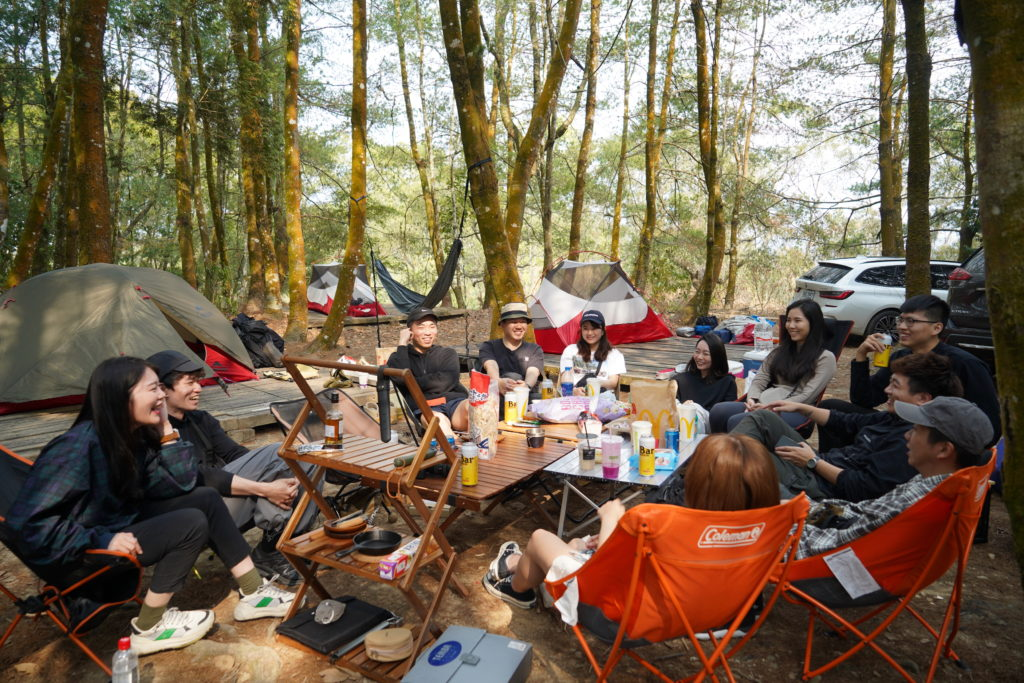 適合朋友露營的露營區