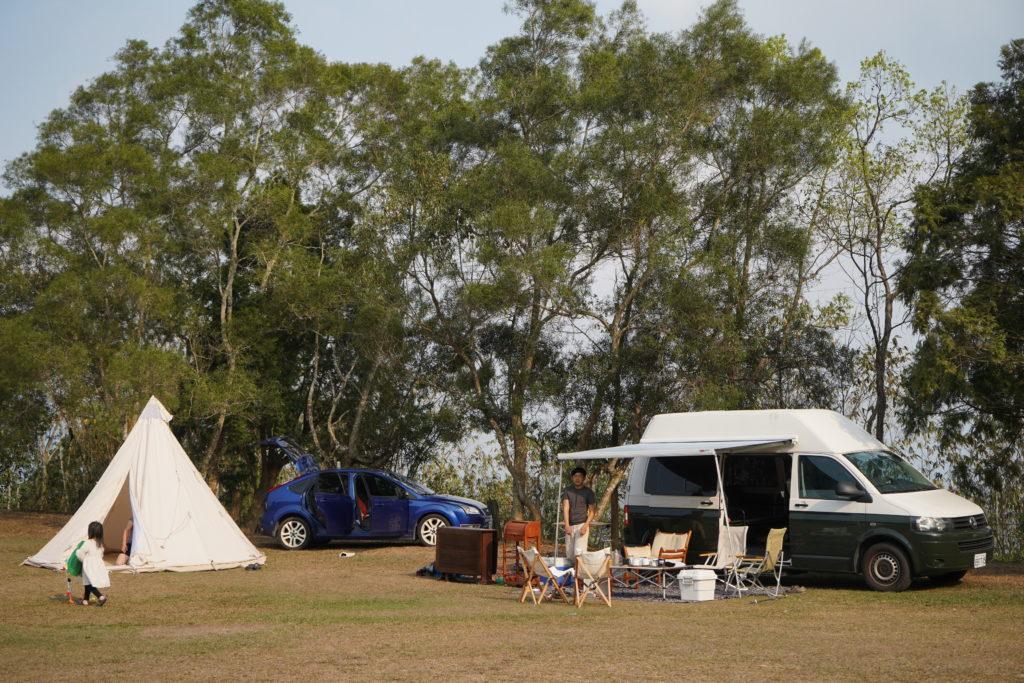家庭式露營